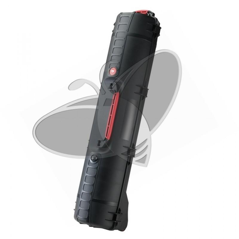 Valise HPRC 6500CW noire avec mousse et roues