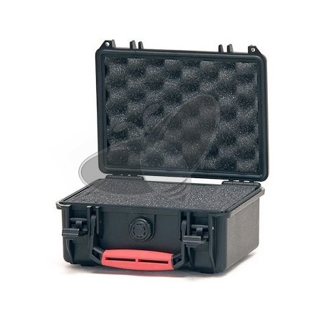 Valise HPRC 2100C noire avec mousse