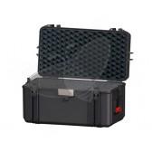 Valise HPRC 4300C noire avec mousse