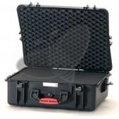 Valise HPRC 2700C noire avec mousse