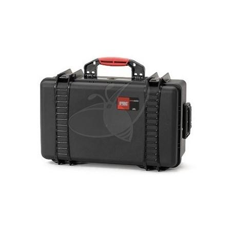 Valise HPRC 2550EW noire vide avec roues