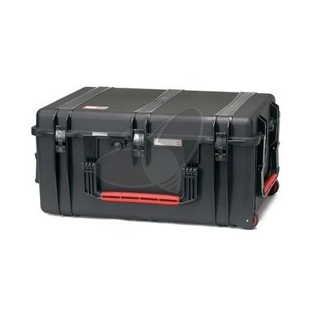 Valise HPRC 2780EW noire vides avec roues