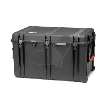 Valise HPRC 2800EW noire vide avec roues