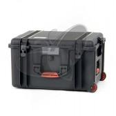 Valise HPRC 2730EW noire vides avec roues