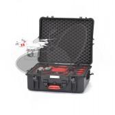 Valise HPRC2700 pour DJI PHANTOM 2/2 VISION/2 VISION+ avec mousse rouge et noire
