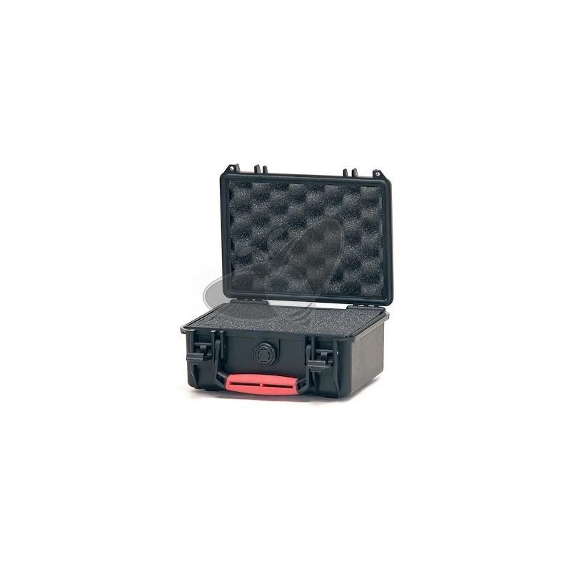 Valise HPRC 2100C noire avec mousse prédécoupée