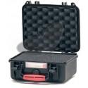 Valise HPRC 2200C noire avec mousse