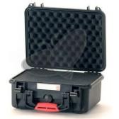 Valise HPRC 2300C noire avec mousse