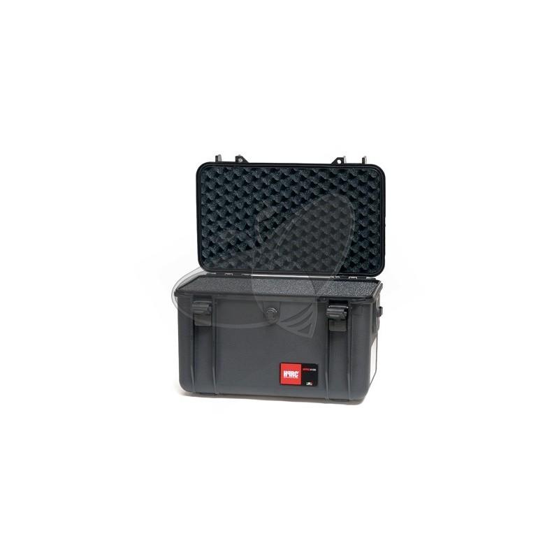 Valise HPRC 4100C noire avec mousse
