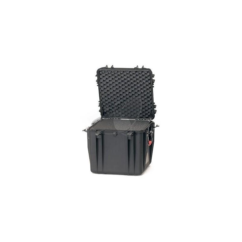Valise HPRC 4400C noire avec mousse