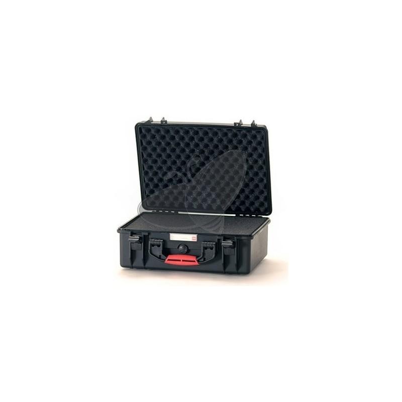 Valise HPRC 2500C noire avec mousse prédécoupée