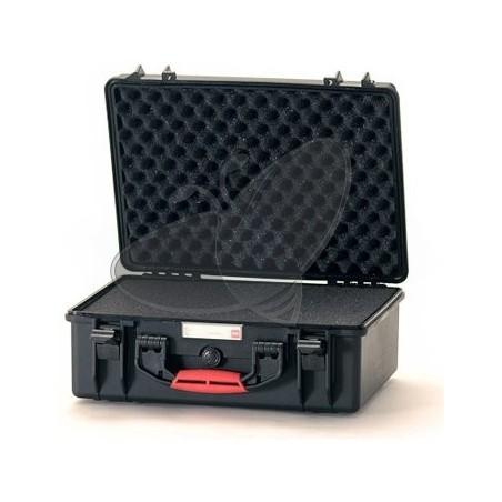 Valise HPRC 2500C noire avec mousse