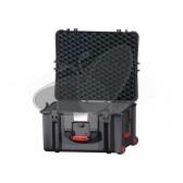 Valise HPRC 2730CW noire avec mousse et roues