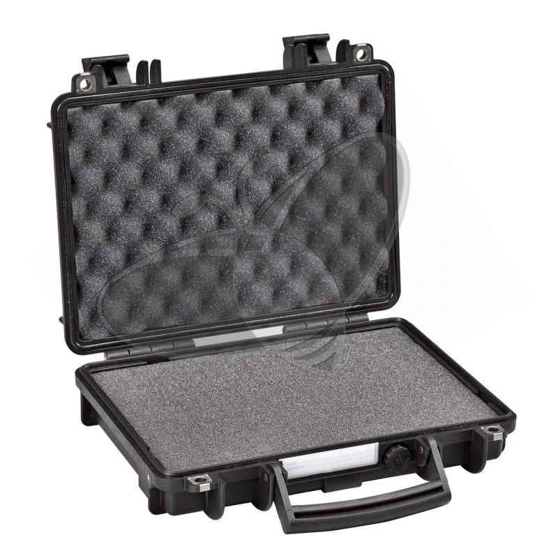 Valise EXPLORER 3005 noire avec mousse prédécoupée