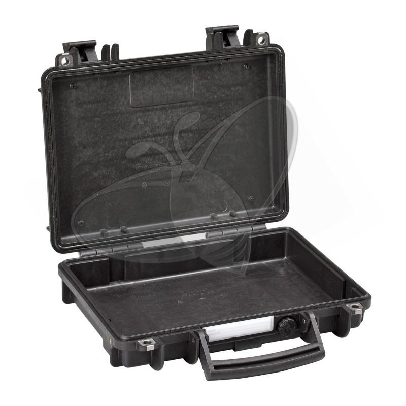 Valise EXPLORER 3005 noire sans mousse