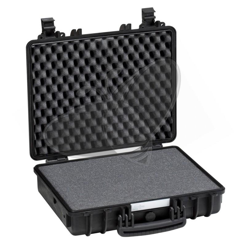Valise EXPLORER 4412 noire avec mousse prédécoupée