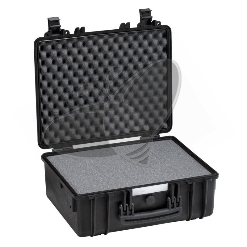 Valise EXPLORER 4419 noire avec mousse