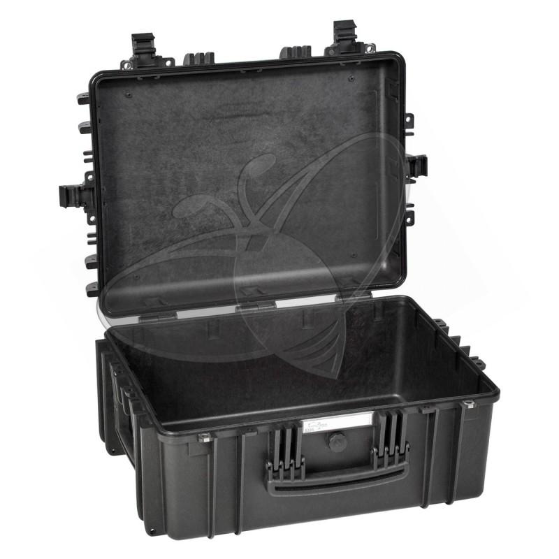 Valise EXPLORER 5325 noire sans mousse