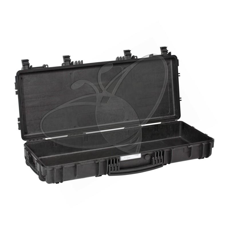 Valise EXPLORER 9413 noire sans mousse et avec  roulettes