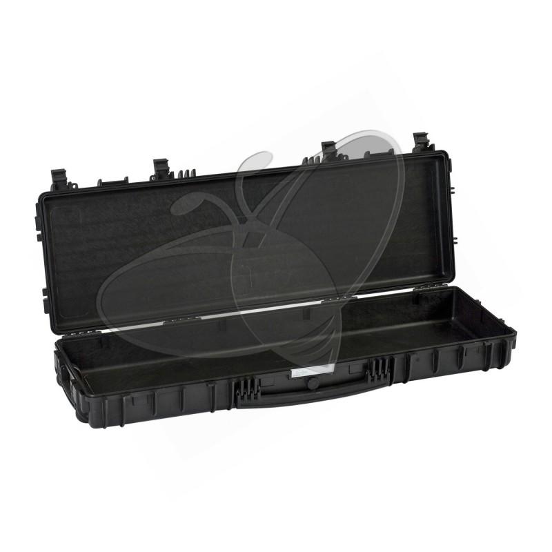 Valise EXPLORER 11413 noire sans mousse et avec roulettes