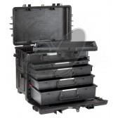 Valise EXPLORER 5140 BTK02.AH avec tiroirs extractibles
