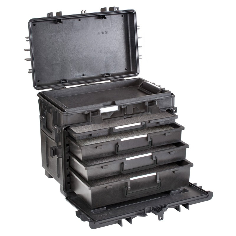 Valise EXPLORER 5140 BTK01.AH avec tiroirs extractibles