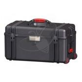 Valise HPRC 4300EW noire vide avec roues