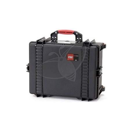 Valise HPRC 2600EW noire vide avec roues
