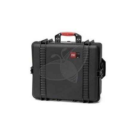 Valise HPRC 2700EW noire vide et roues