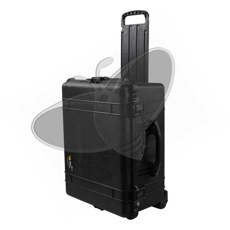 /étanche /à leau et /à la poussi/ère IP67 capacit/é de 62L avec insert en mousse personnalisable fabriqu/ée en Allemagne couleur: noire PELI 1610 Large valise de protection /à roulettes
