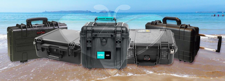 Valises étanches et valises de protection